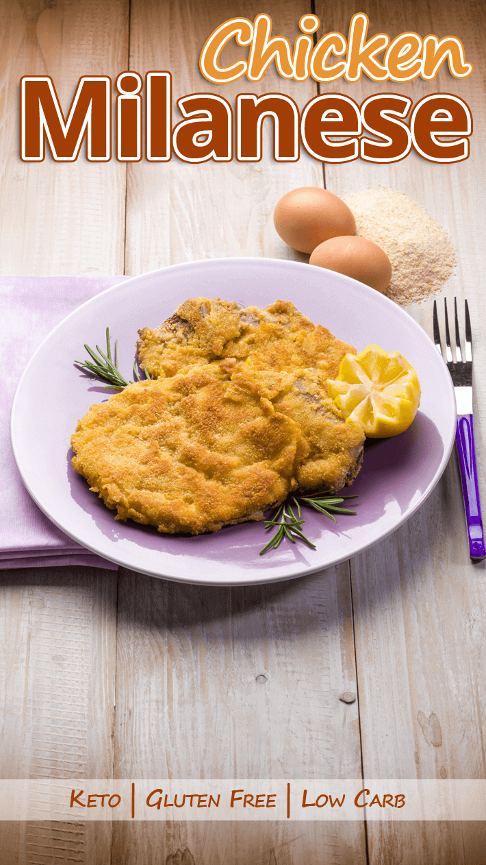 Low Carb Gluten Free Chicken Milanese