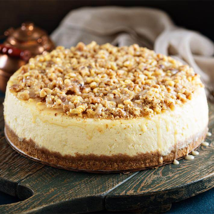 Low Carb Pecan Pie Cheesecake