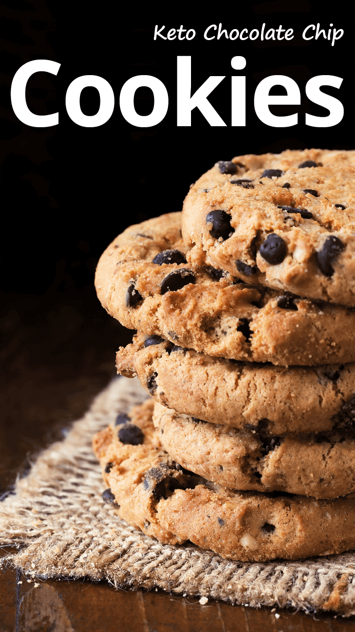 Keto Chocolate Chip Cookies