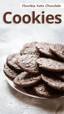 Flourless Keto Chocolate Cookies