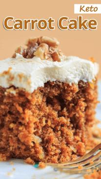 Keto Carrot Cake