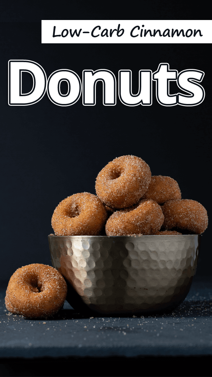 Low-Carb Cinnamon Donuts