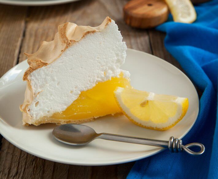 Keto Lemon Meringue Pie