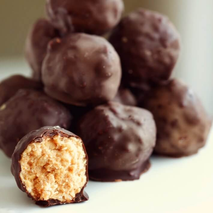 Keto Chocolate Peanut Butter Balls