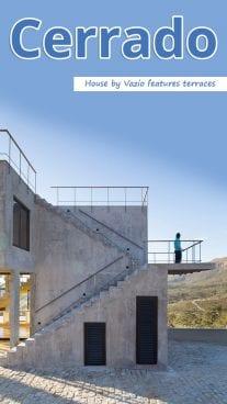 Cerrado House by Vazio features terraces