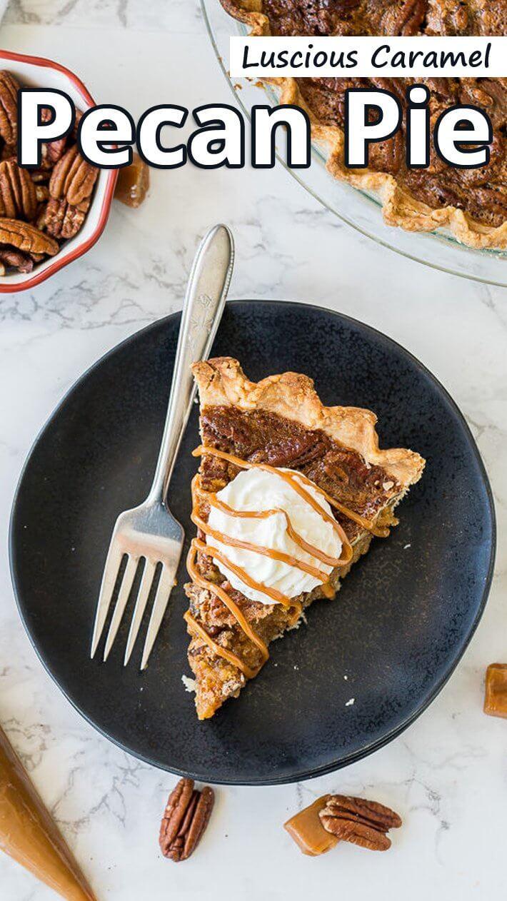 Luscious Caramel Pecan Pie