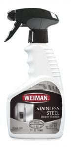 Streak-Free Shine Booster: Weiman Stainless Steel Cleaner