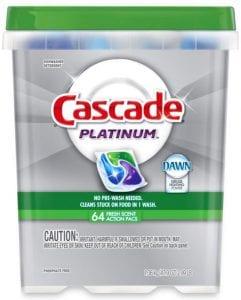 Super Suds: Cascade Platinum ActionPacs