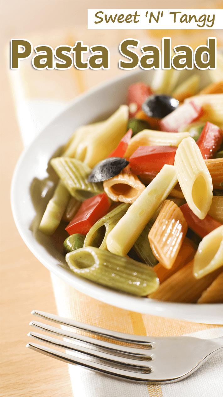 Sweet 'N' Tangy Pasta Salad