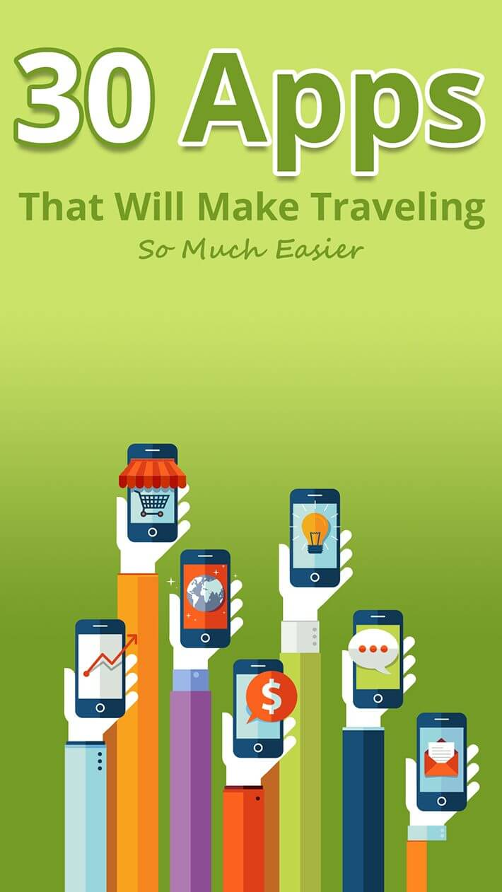 30 Apps That Will Make Traveling So Much Easier