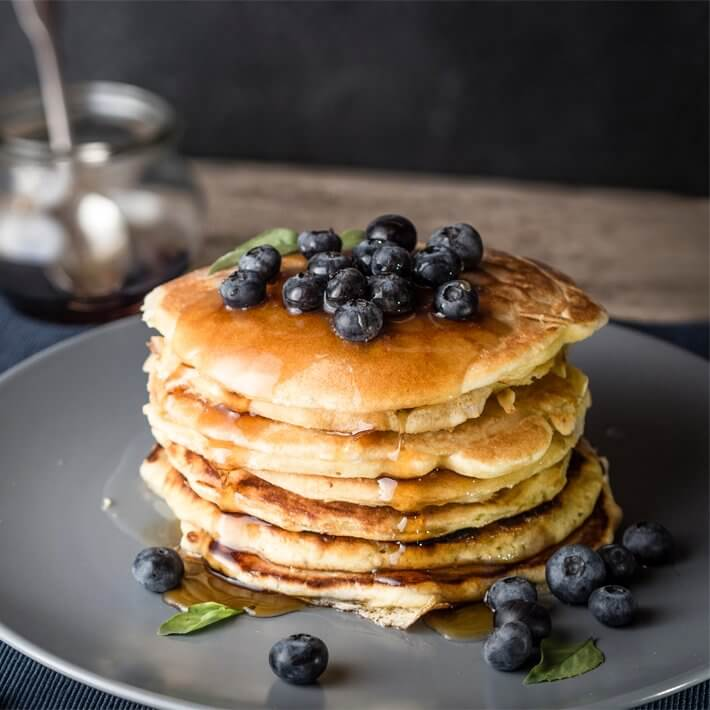 Keto Fluffy Buttermilk Pancakes