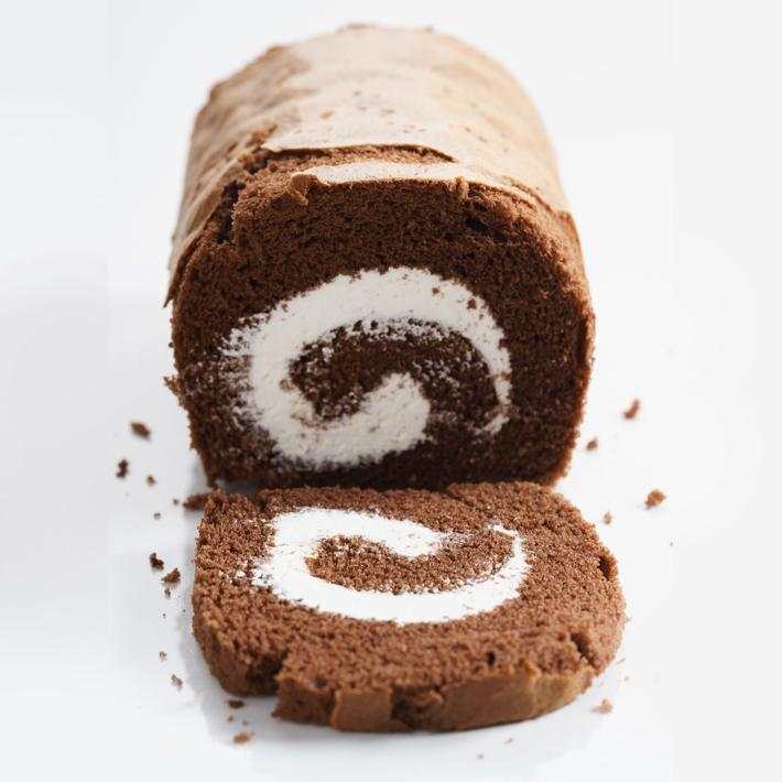 Keto Chocolate Roll Cake