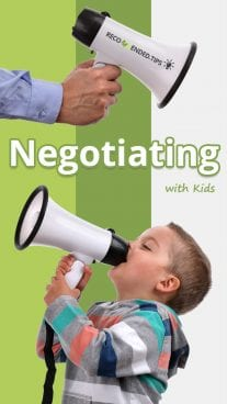 Negotiating With Kids