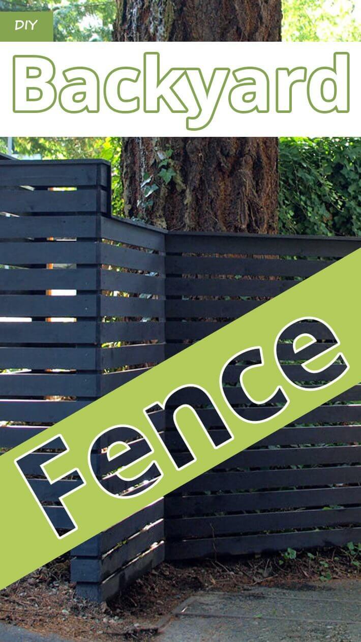 DIY – Backyard Fence