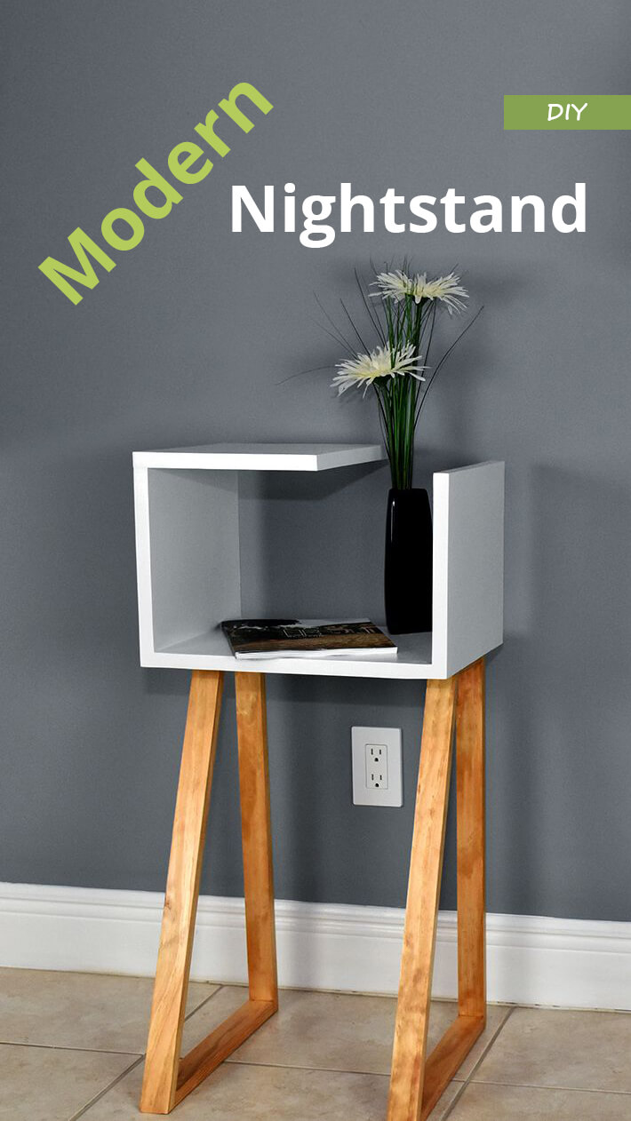 Diy Modern Nightstand Recommended Tips