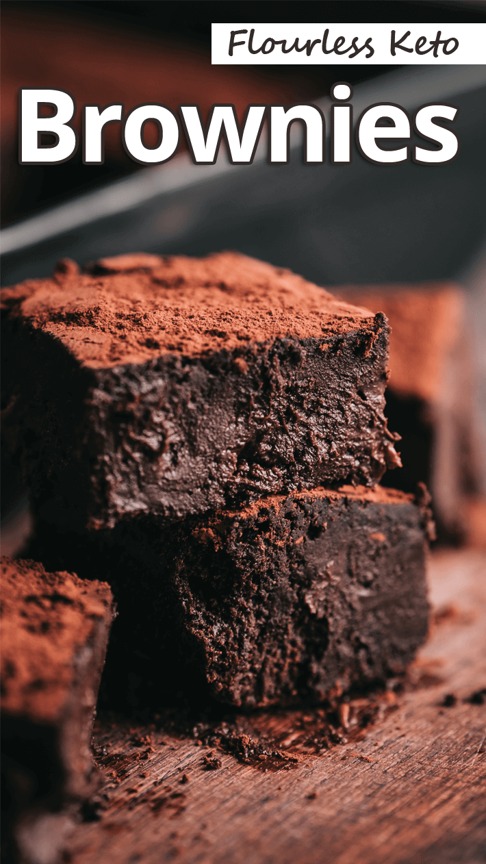 Flourless Keto Brownies