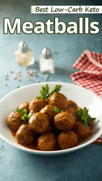 Best Low-Carb Keto Meatballs