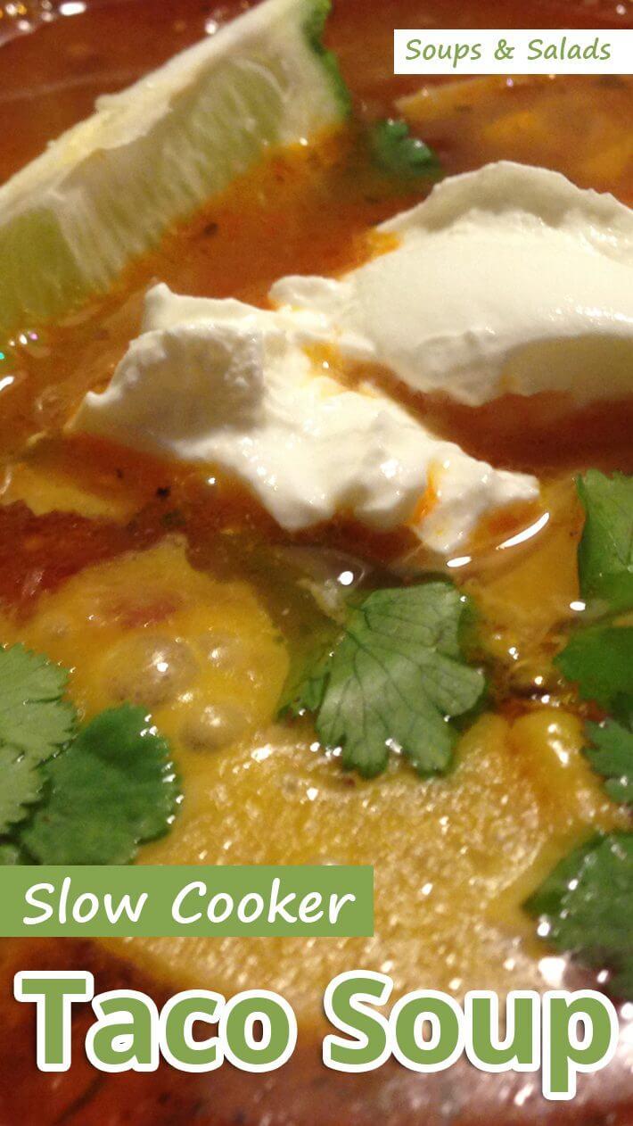 Slow Cooker Taco Soup
