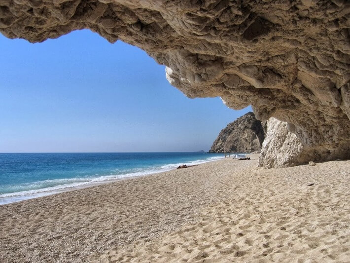 Egremni beach, Greece