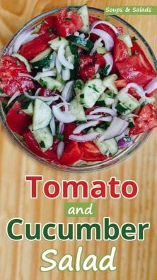 Tomato and Cucumber Salad