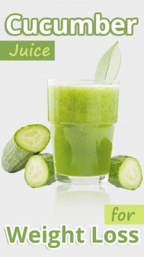 Cucumber Juice for Weight Loss