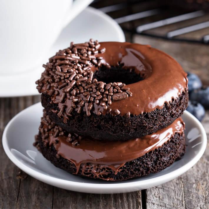 Keto Chocolate Donuts
