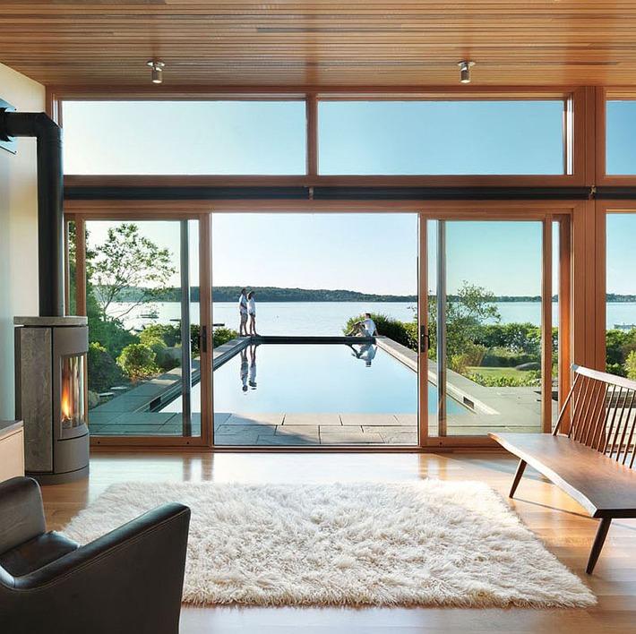 Modern Guesthouse Overlooks Gloucester Harbor