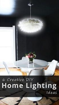 6 Creative DIY Home Lighting Ideas