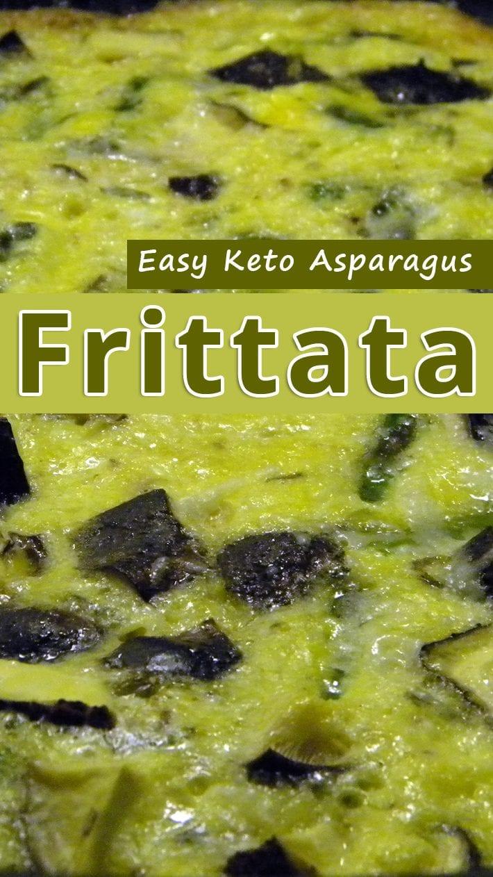 Easy Keto Asparagus Frittata