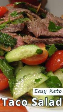 Easy Keto Taco Salad