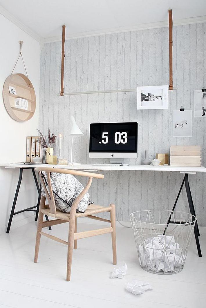 Splendid Scandinavian Home Office and Workspace Designs