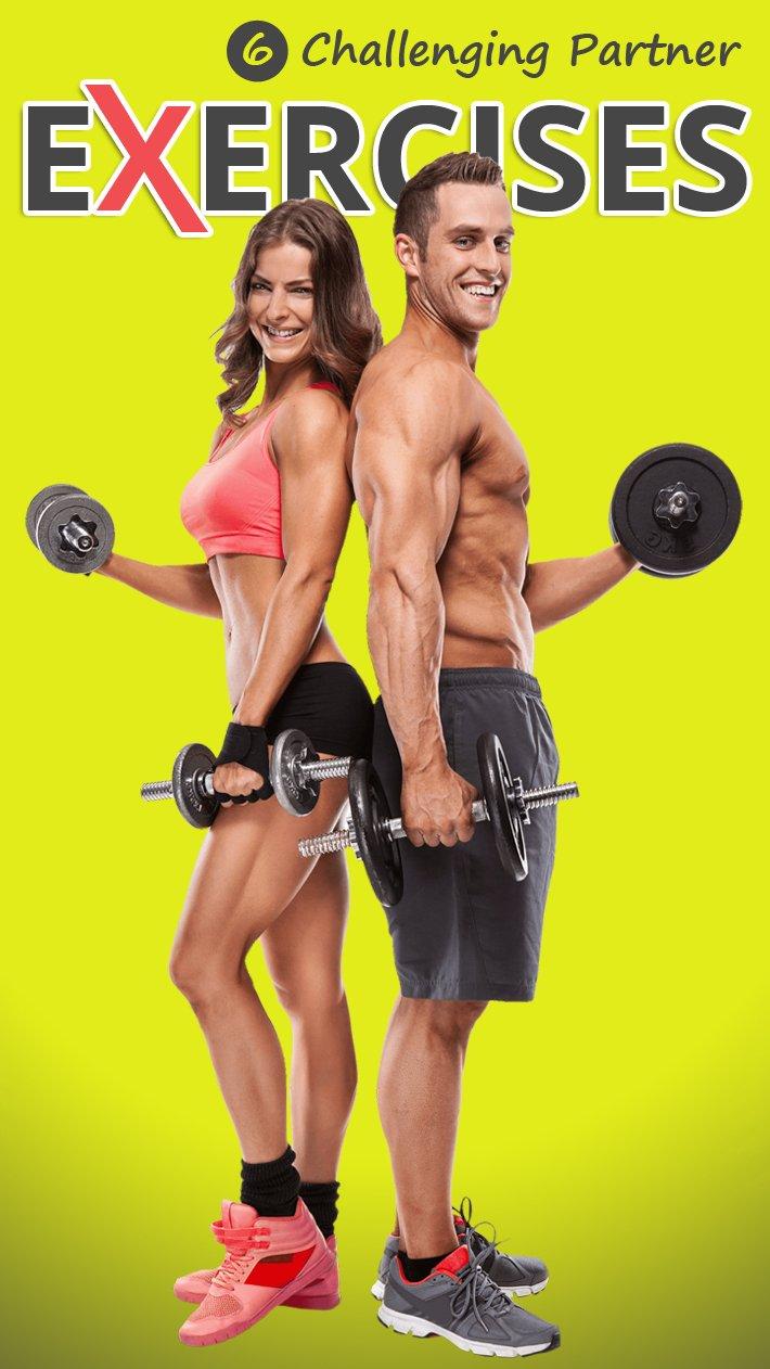 6 Challenging Partner Exercises