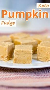 Keto Pumpkin Fudge