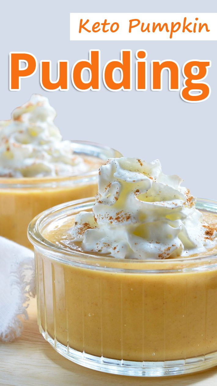 Keto Pumpkin Pudding