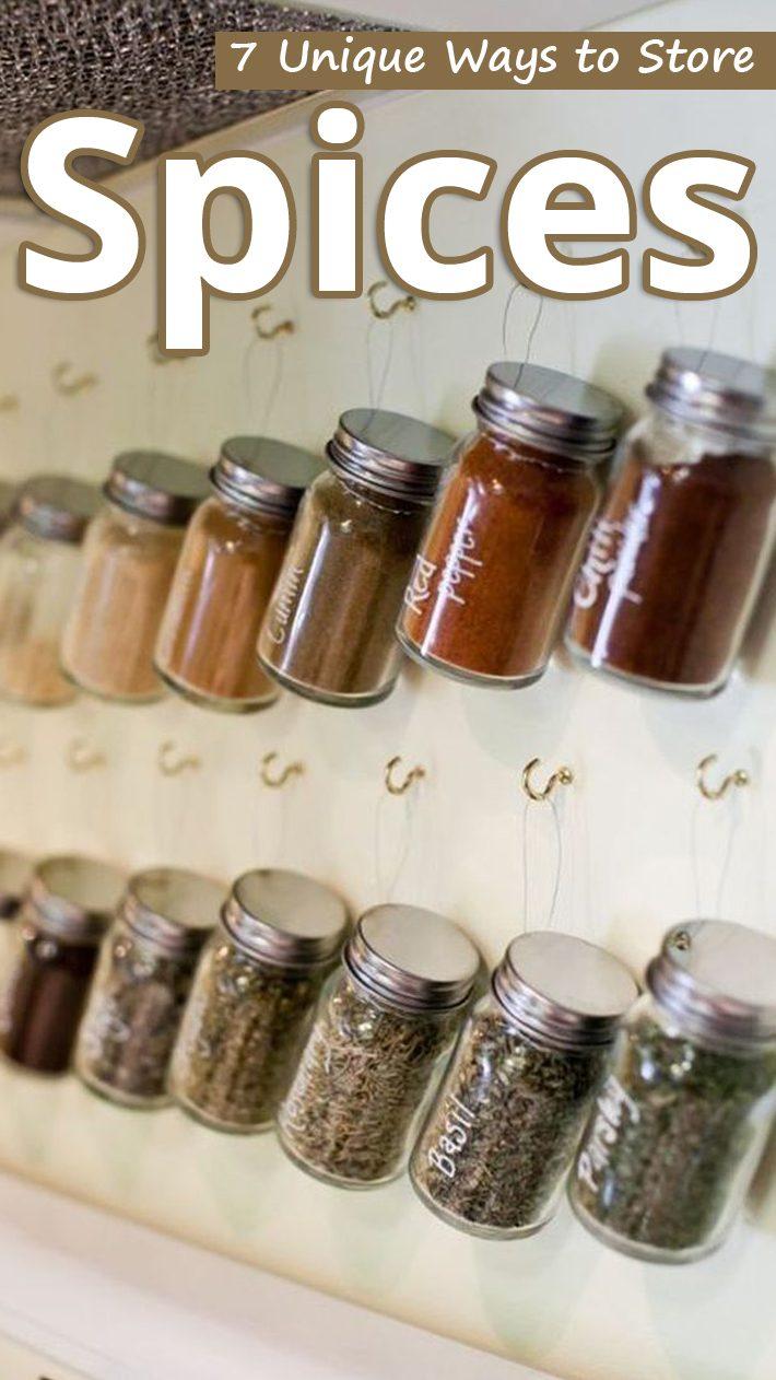 8 Unique Ways to Store Spices