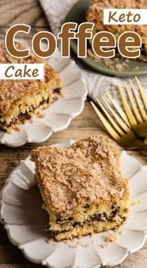 Keto Coffee Cake