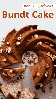 Keto Gingerbread Bundt Cake