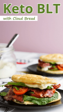 Keto BLT with Cloud Bread
