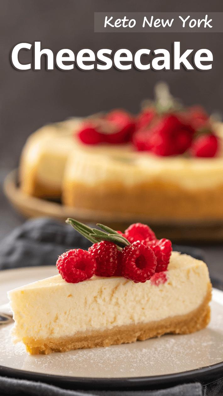 Keto New York Cheesecake