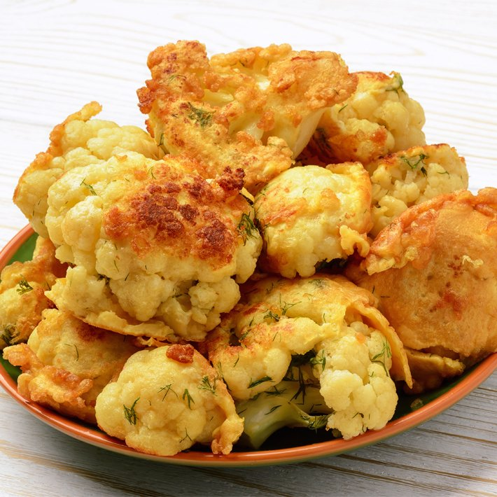 Cheesy Keto Cauliflower Tots