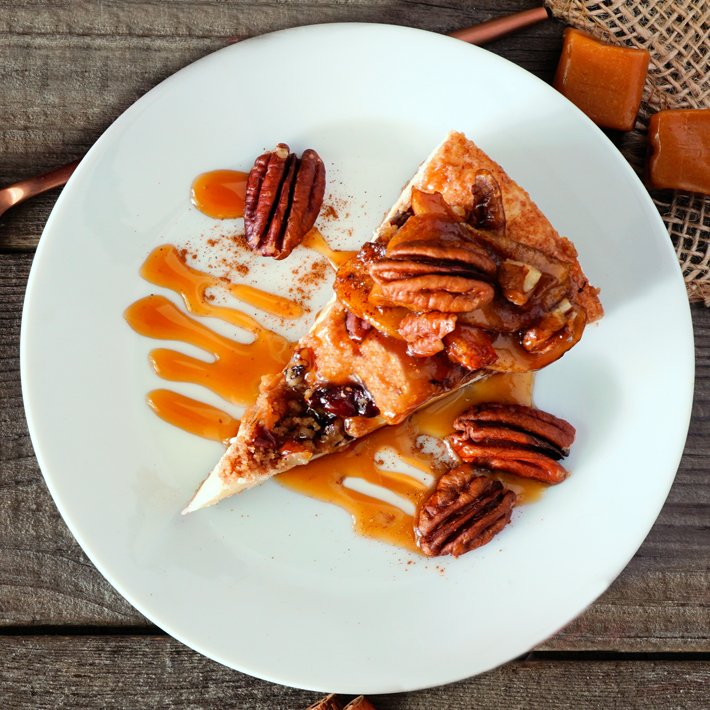 Easy Keto Salted Caramel Pie