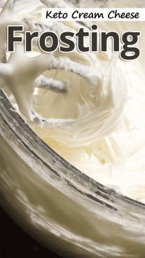 Keto Cream Cheese Frosting
