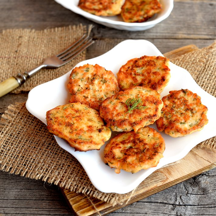 Keto Salmon Patties with Canned Meat
