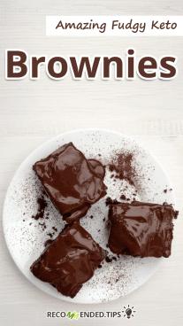 Amazing Fudgy Keto Brownies